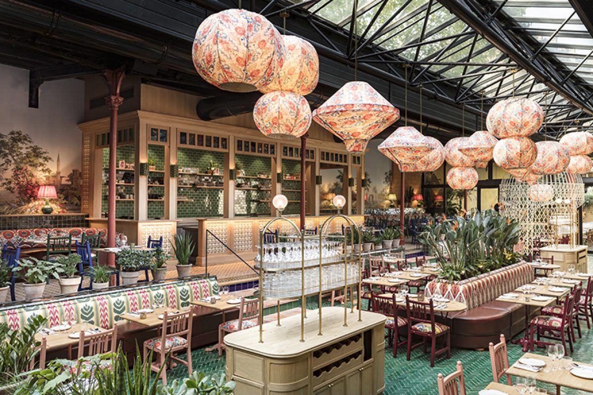 La Gare, the Parisian restaurant of Mediterranean and Latin inspiration designed by Laura Gonzalez