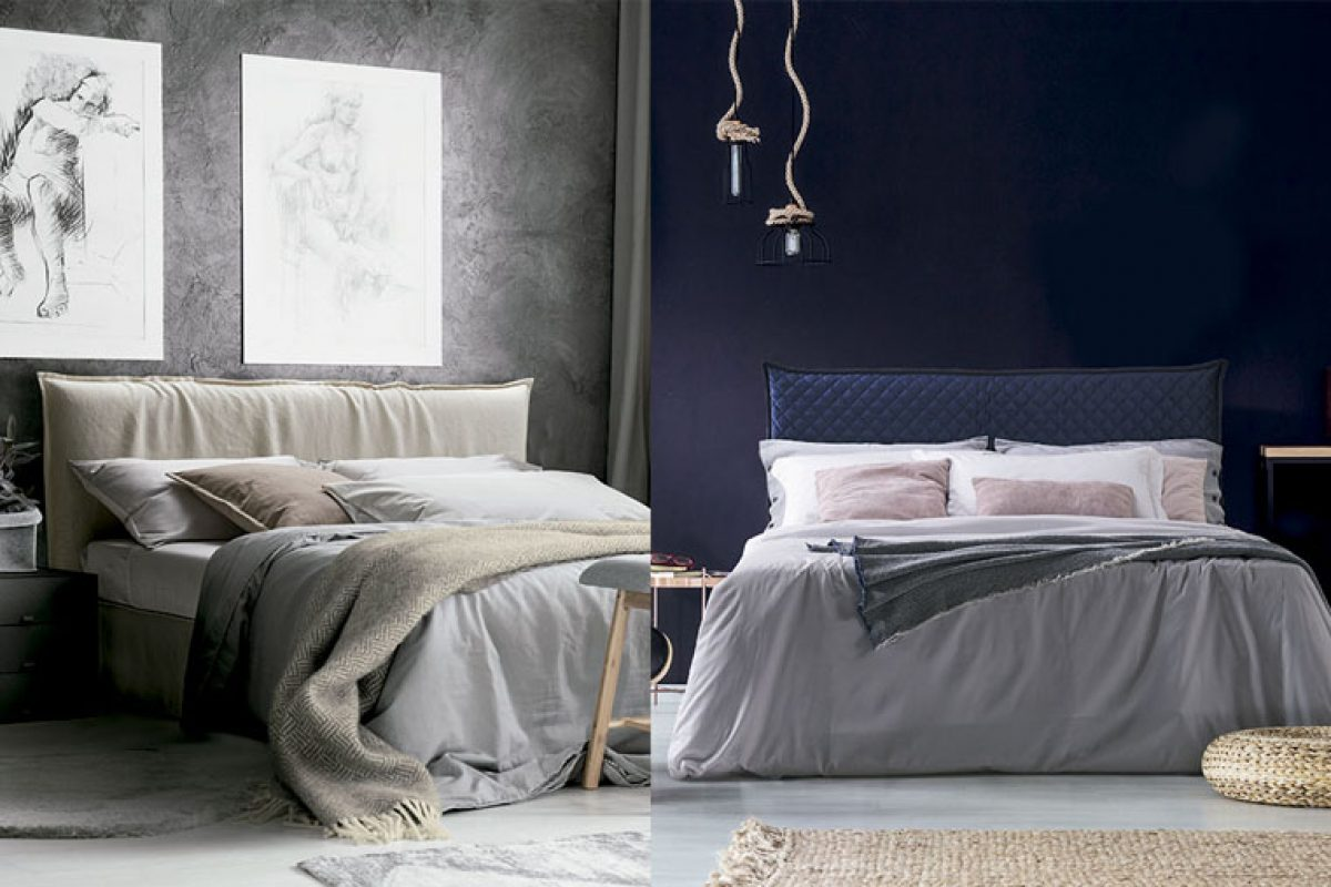 Naxos and Bahamas, the new timeless beds by Milano Bedding