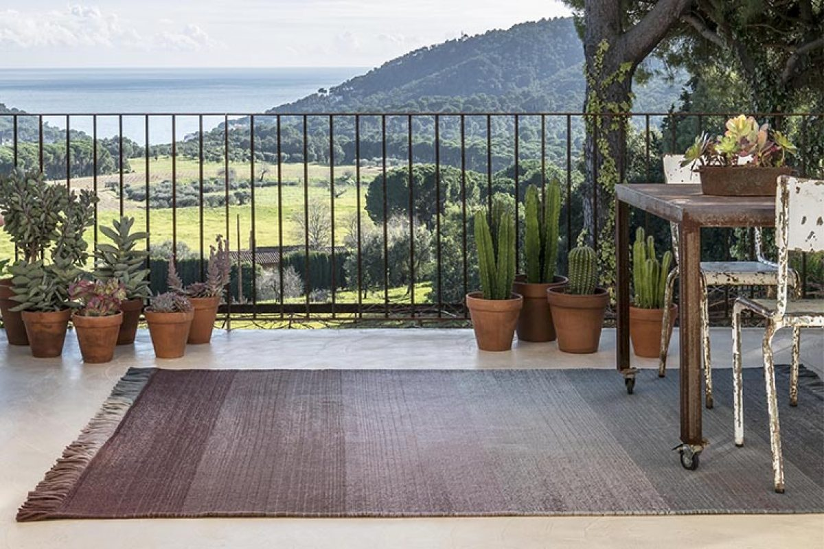 nanimarquina presents its first line of outdoor rugs