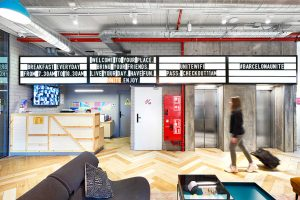 Design focused on guest.  Blanca Beltz projects the interior of Unite, the new hostel in Barcelona