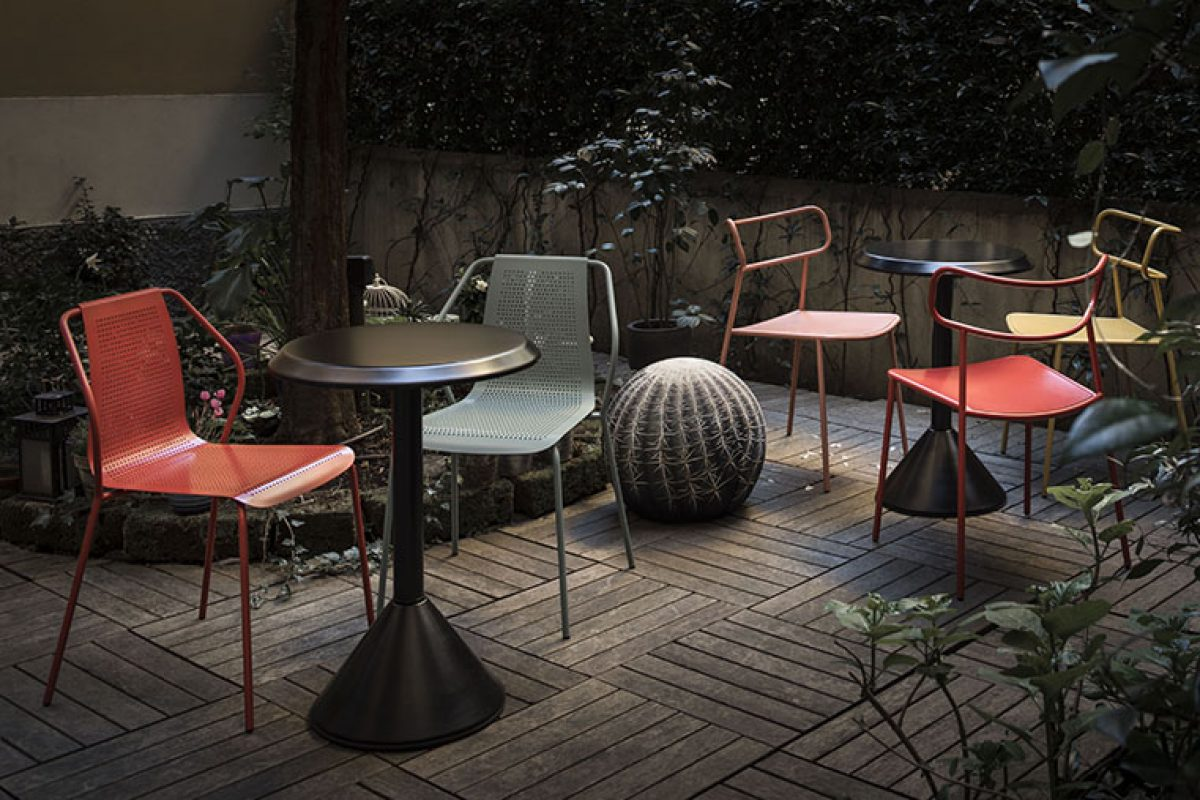 Donna and Paloma, the new outdoor chairs by Baleri Italia