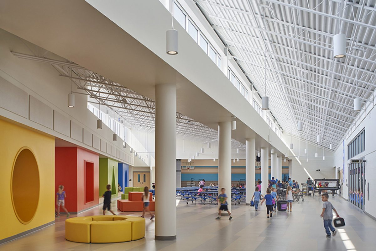 Architecture as Community: Rockford Public Schools K-5 Prototype School designed by CannonDesign with students