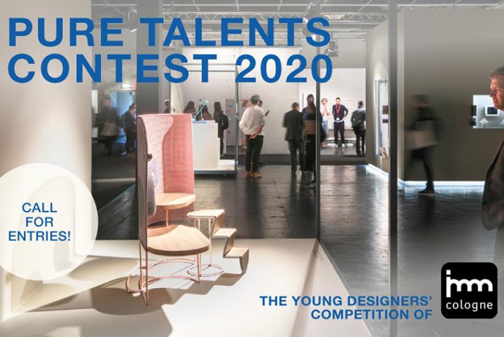 Open call for entries for young designers for the 17th Pure Talents Contest of imm cologne