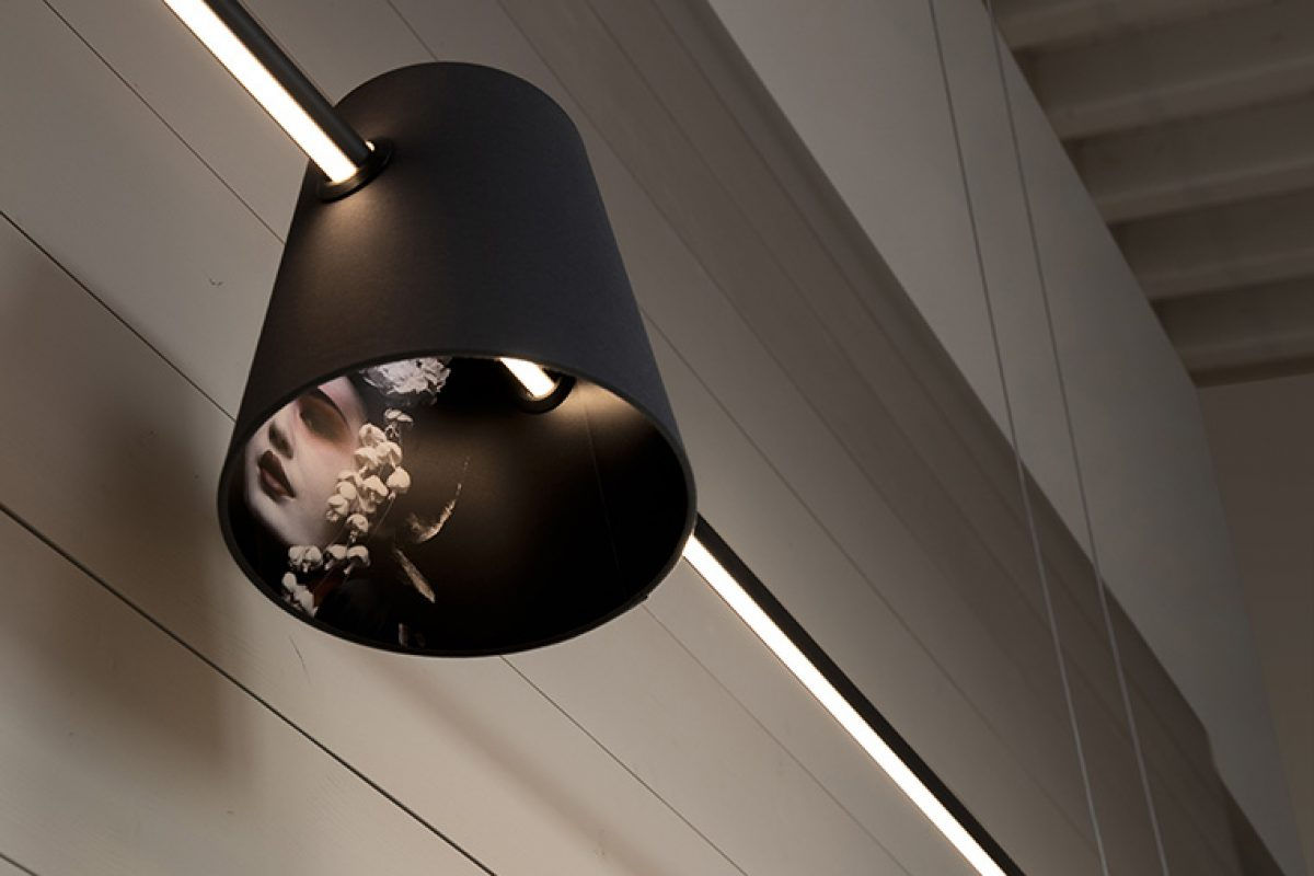 Cupido by Matteo Ugolini for Karman, the lighten arrow  between decoration and minimalism