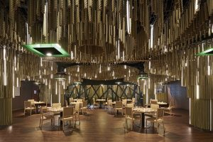 Alex March is inspired by Ibero-American landscapes to design Oda Restaurant, the new gastronomic space of the Casino de Barcelona