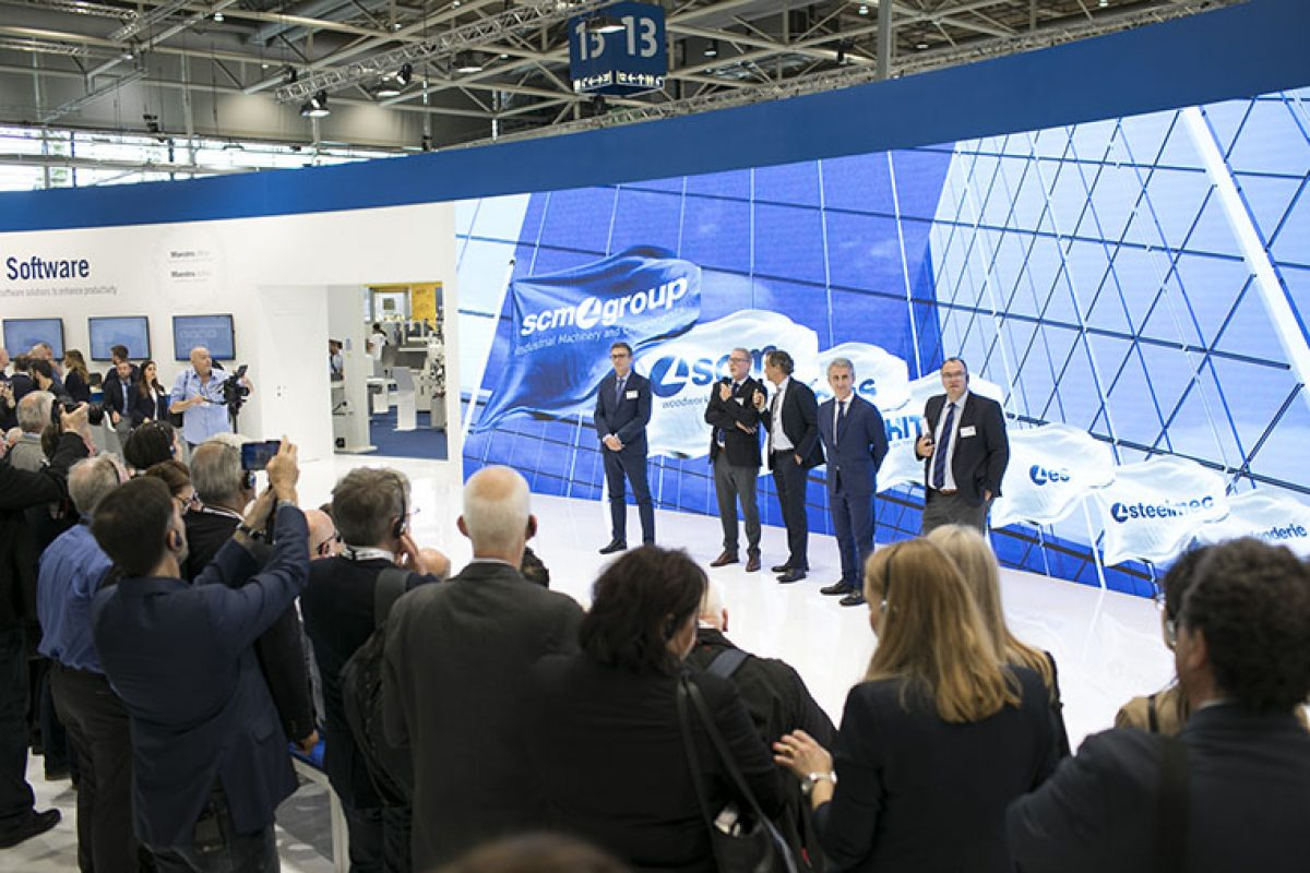 SCM celebrates 60 years at Ligna with a special edition