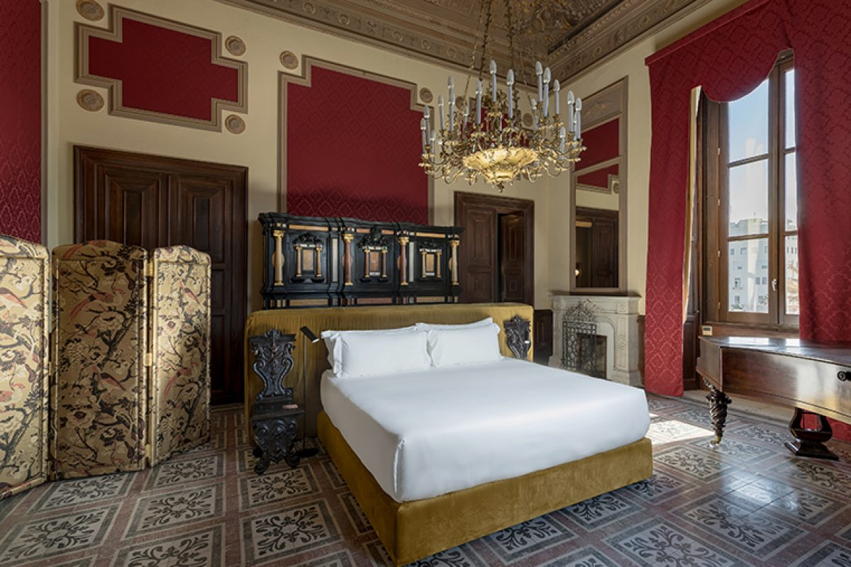 A stunning Sicilian palace for the new Room Mate Andrea Hotel by Kike Sarasola