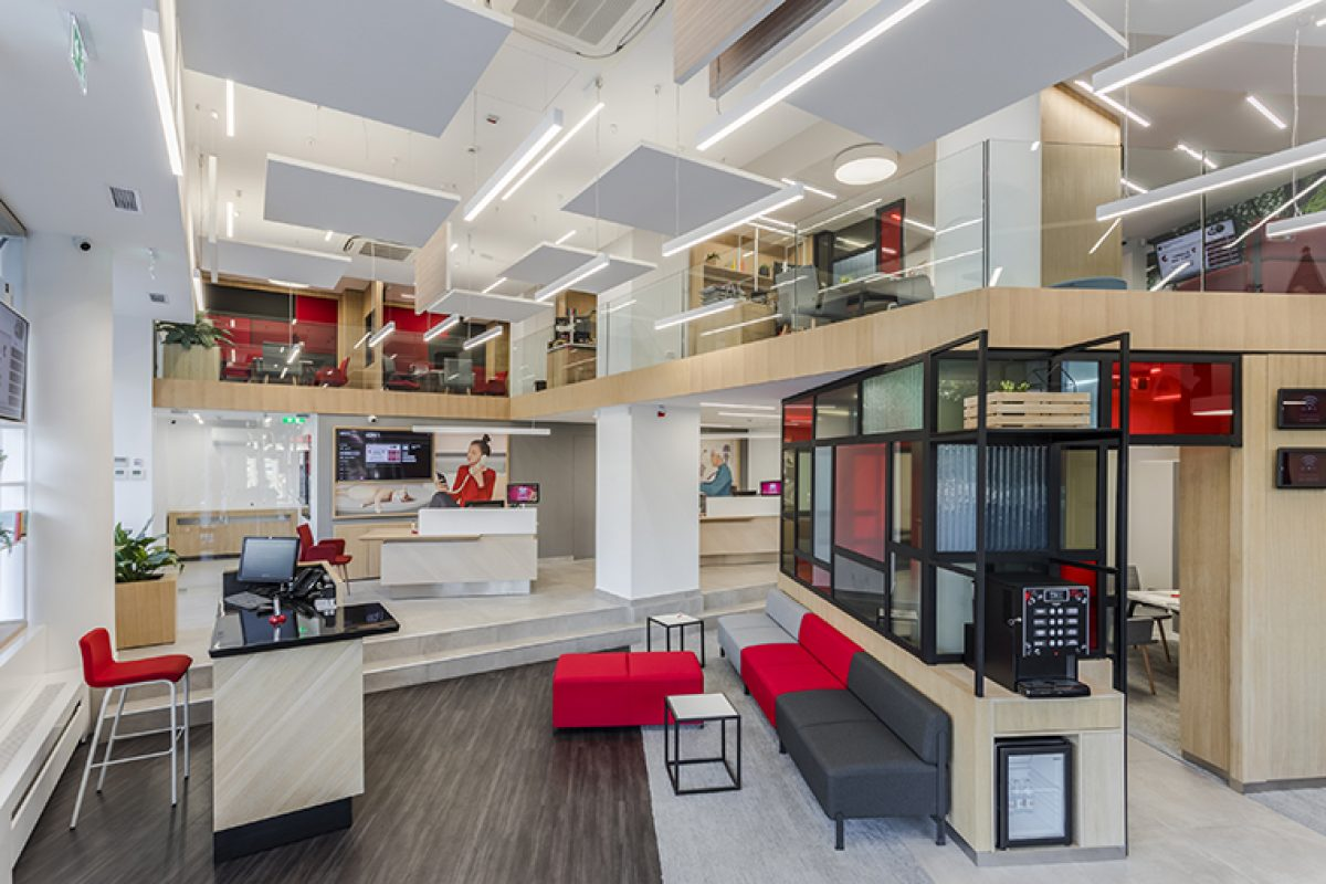 ArcoSITE designed the Société Générale new offices committed to technology and customer service