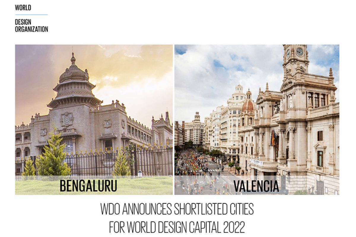 Valencia and Bengaluru, the two cities finalists to be World Design Capital 2022