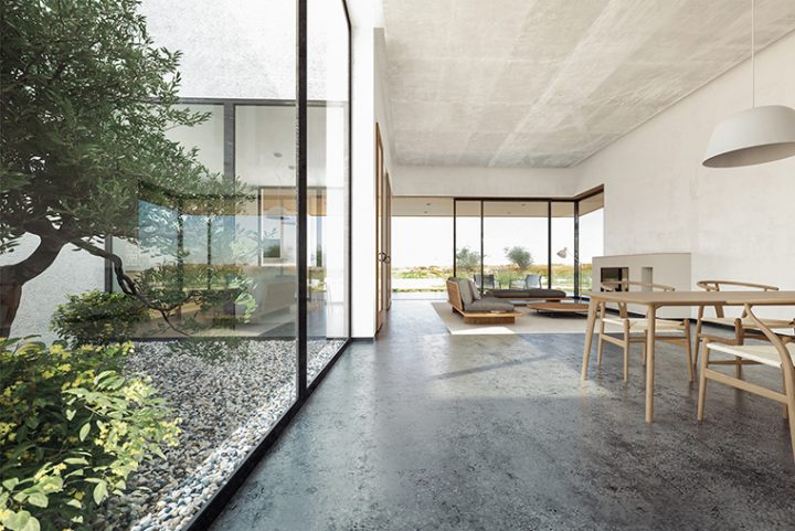 Pedraza House by AQSO. A luminous, diaphanous and minimalist space