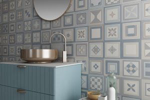 Hydraulic tiles, an increasing tendency to decorate floors and walls in the renovations of interior spaces