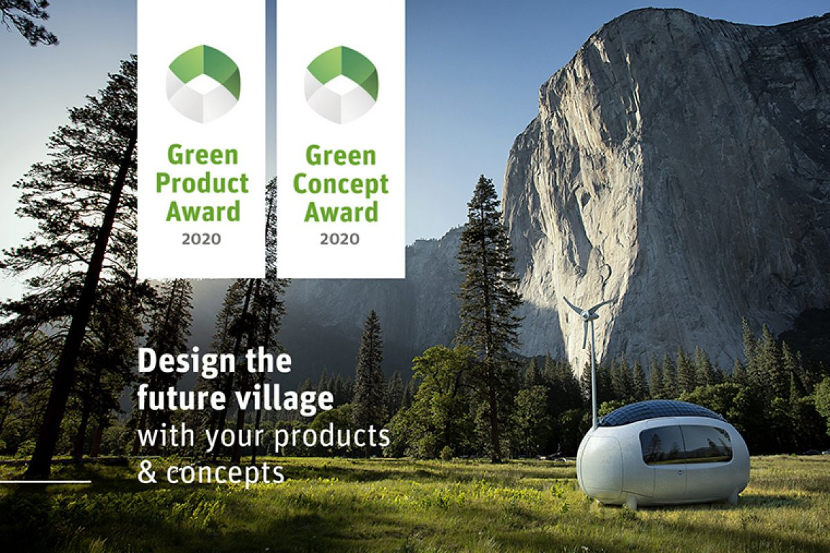 Call for submission for the sustainable design contest, Green Product and Concept Award 2020