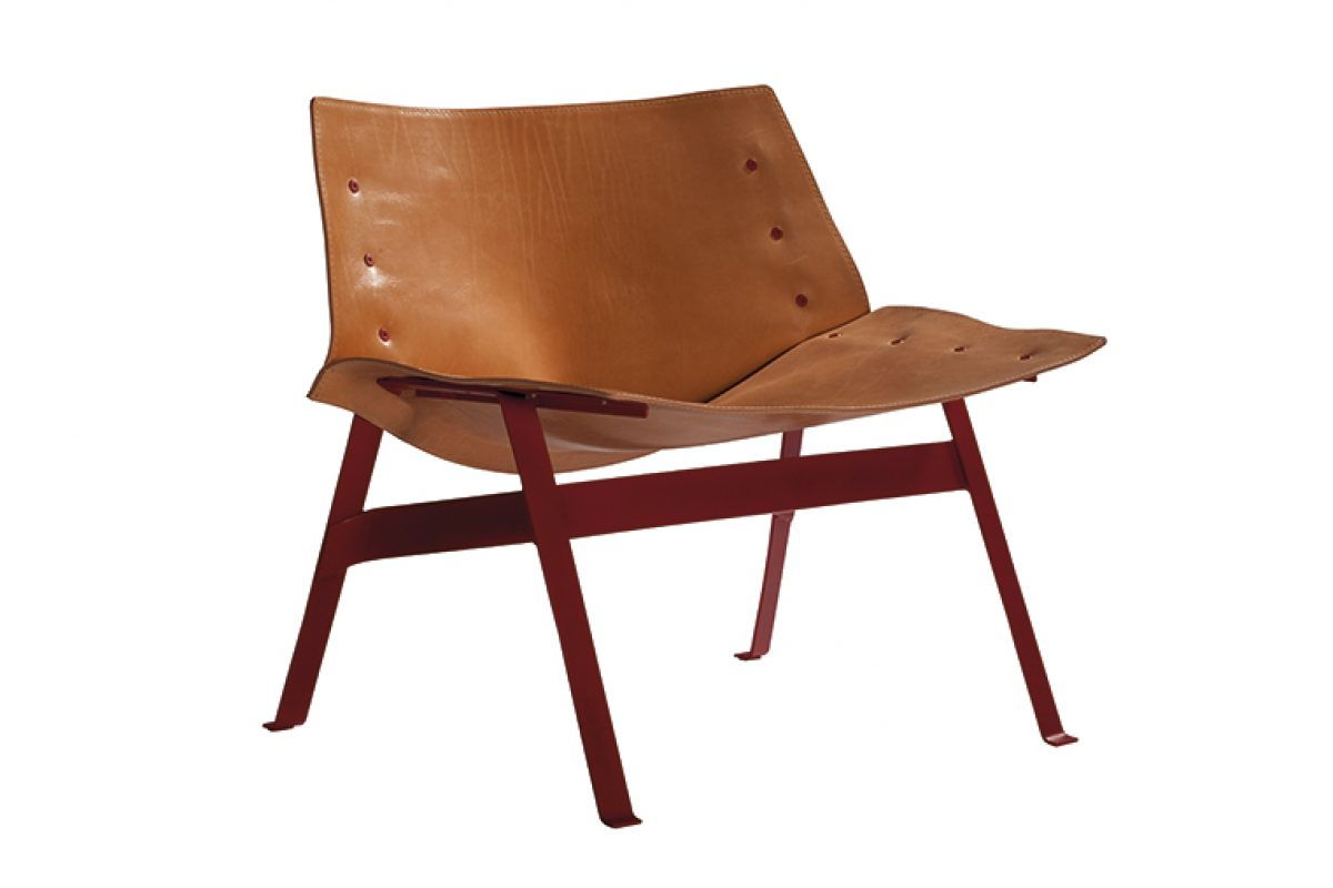 Panel lounge chair, designed by Lucy Kurrein for Capdell, wins Design Guild Mark Award in London