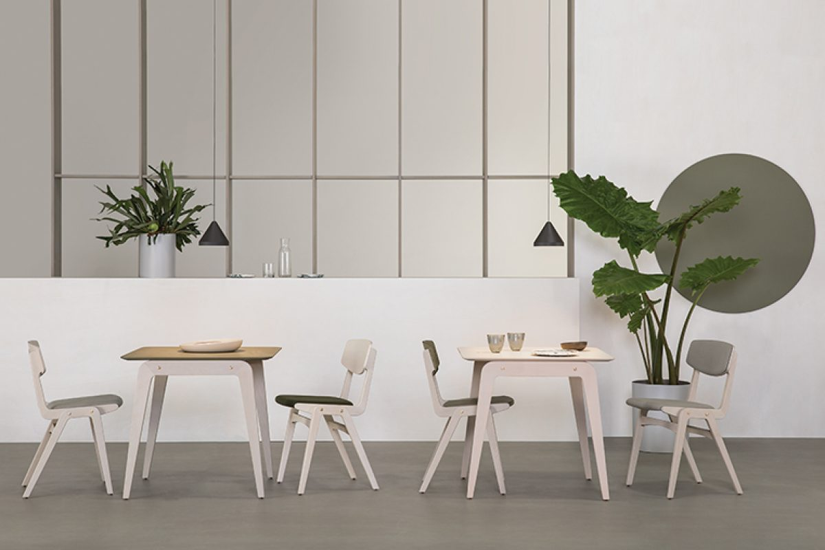 Glöwr chairs collection designed by Claire Davies for Vergés