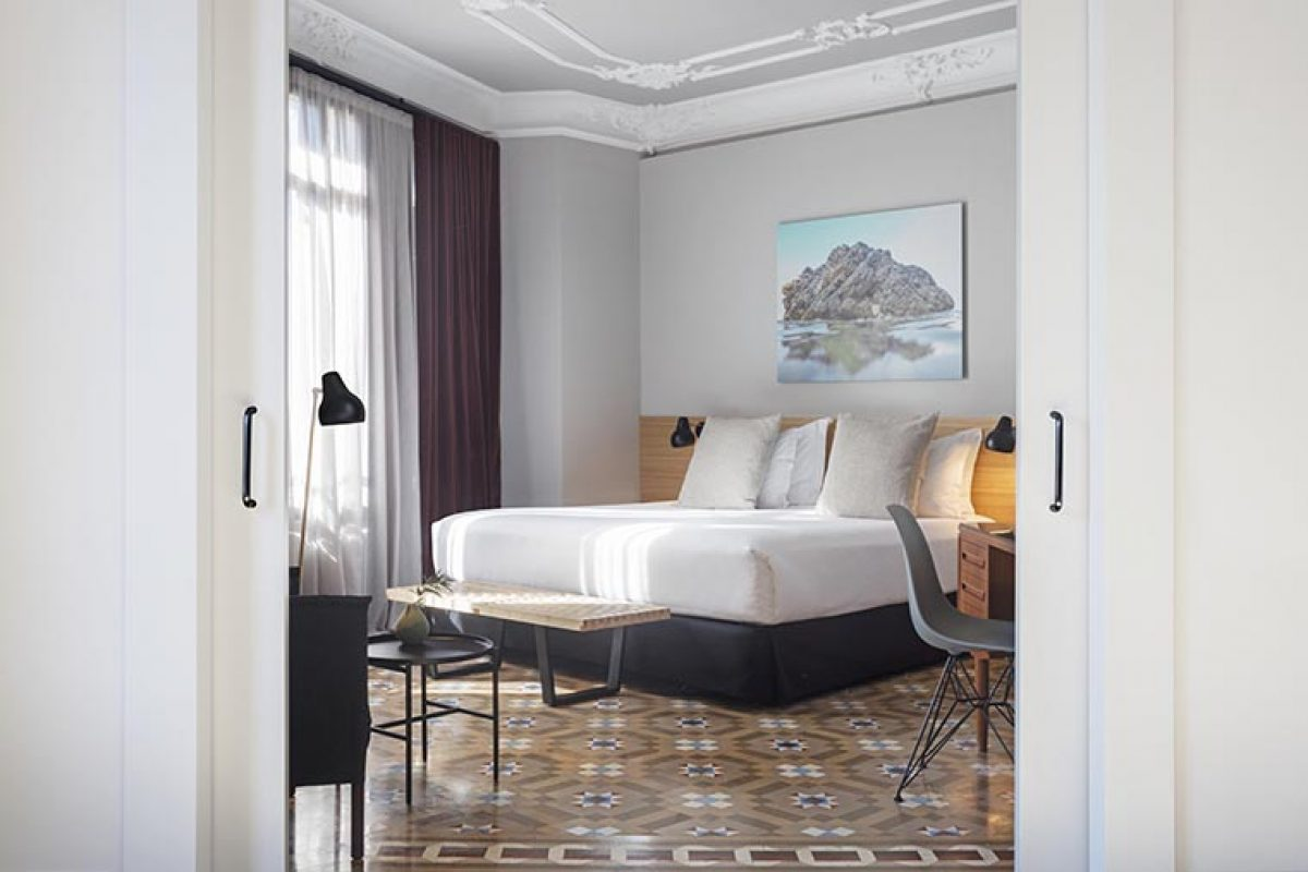 Borrell Jover studio signed the refurbishment project of the Hotel Alexandra Barcelona rooms