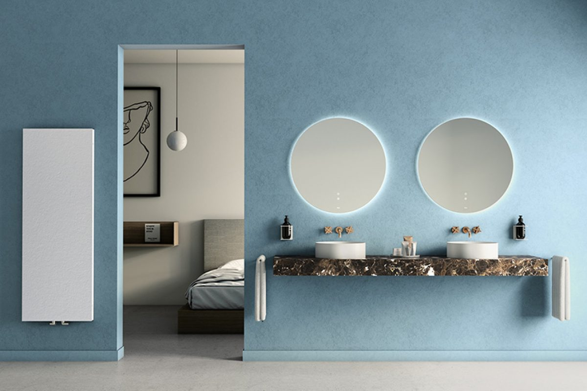 Fiora presents its Bathroom trends at Cersaie 2019: combination of materials and block colour
