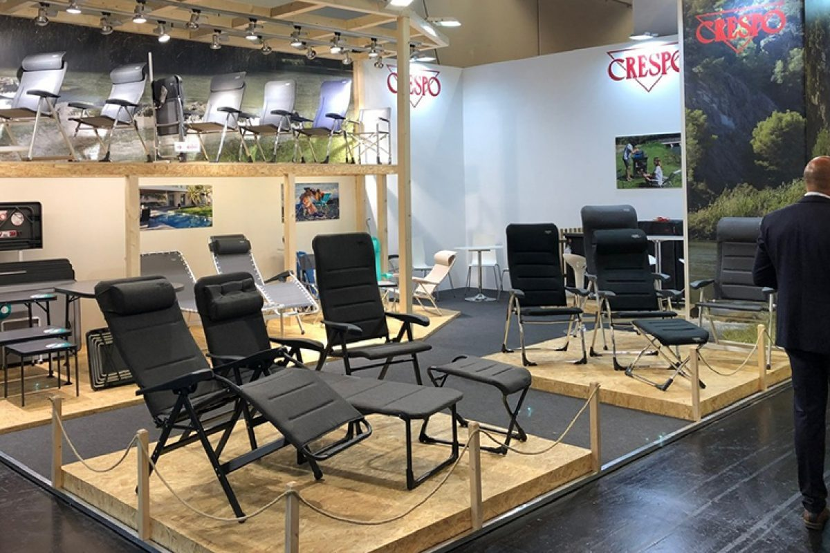 Crespo presents with great success its new folding models for campers, motorhomes and camping in Spoga + Gafa