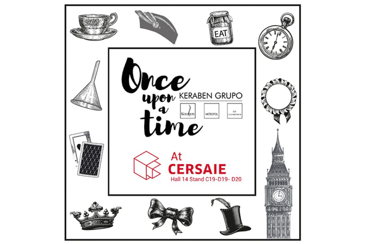 Keraben Grupo invites visitors of Cersaie 2019 to find out its novelties on a 600 m2 tour
