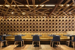 El Equipo Creativo designed the Forn de Sant Joan restaurant in an old Majorcan bakery of the 19th century