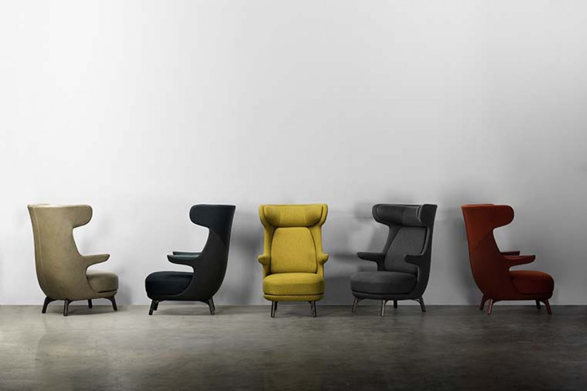 Dino by Jaime Hayón for BD Barcelona Design, a slender armchair from whichever angle you look at it