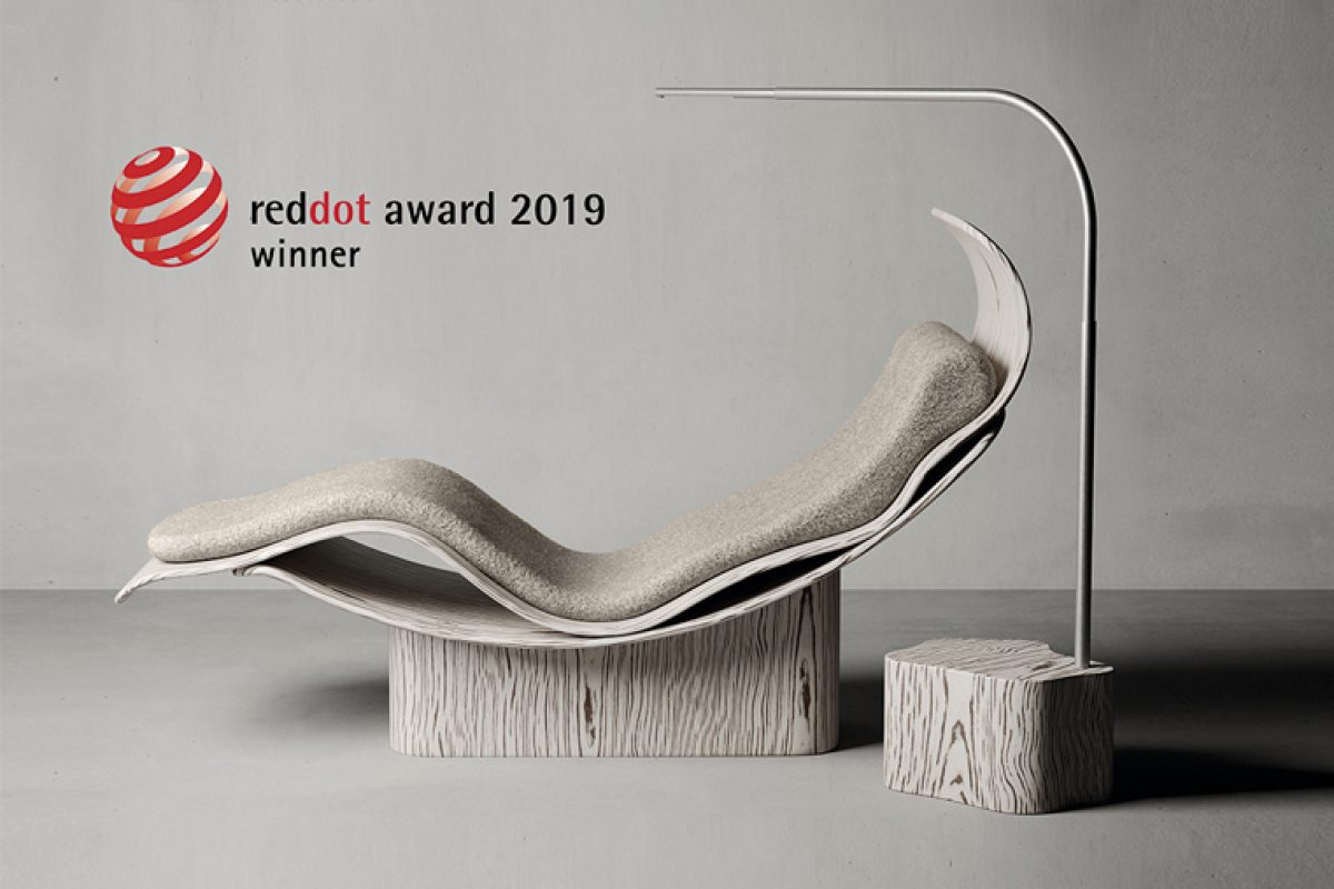 The Ergo Collection, designed by Ross Lovegrove for Natuzzi, wins the Red Dot Award 2019