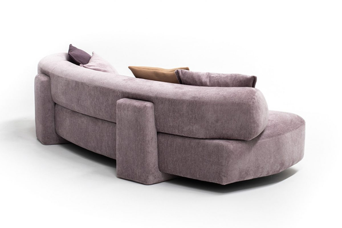 Goga, the last sofa designed by Patricia Urquiola for Moroso