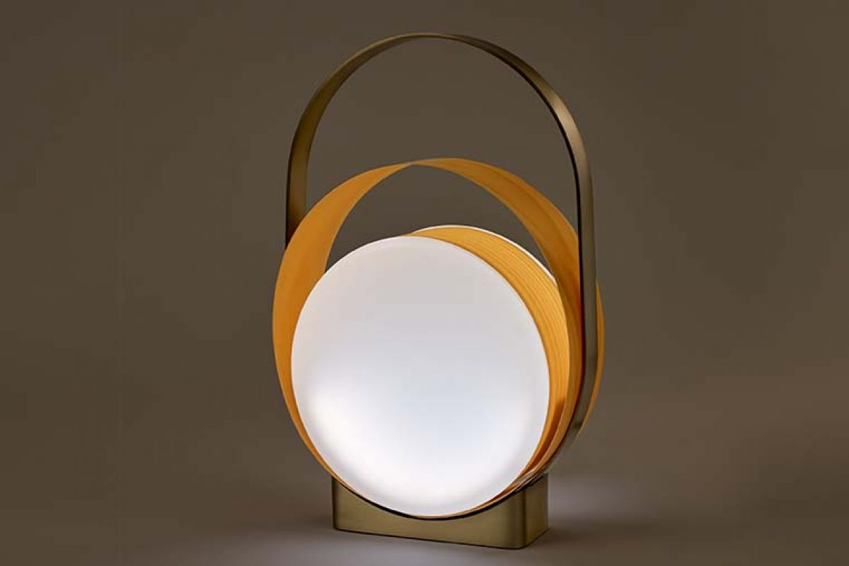 Loop, the beaming light designed by MUT Design for LZF