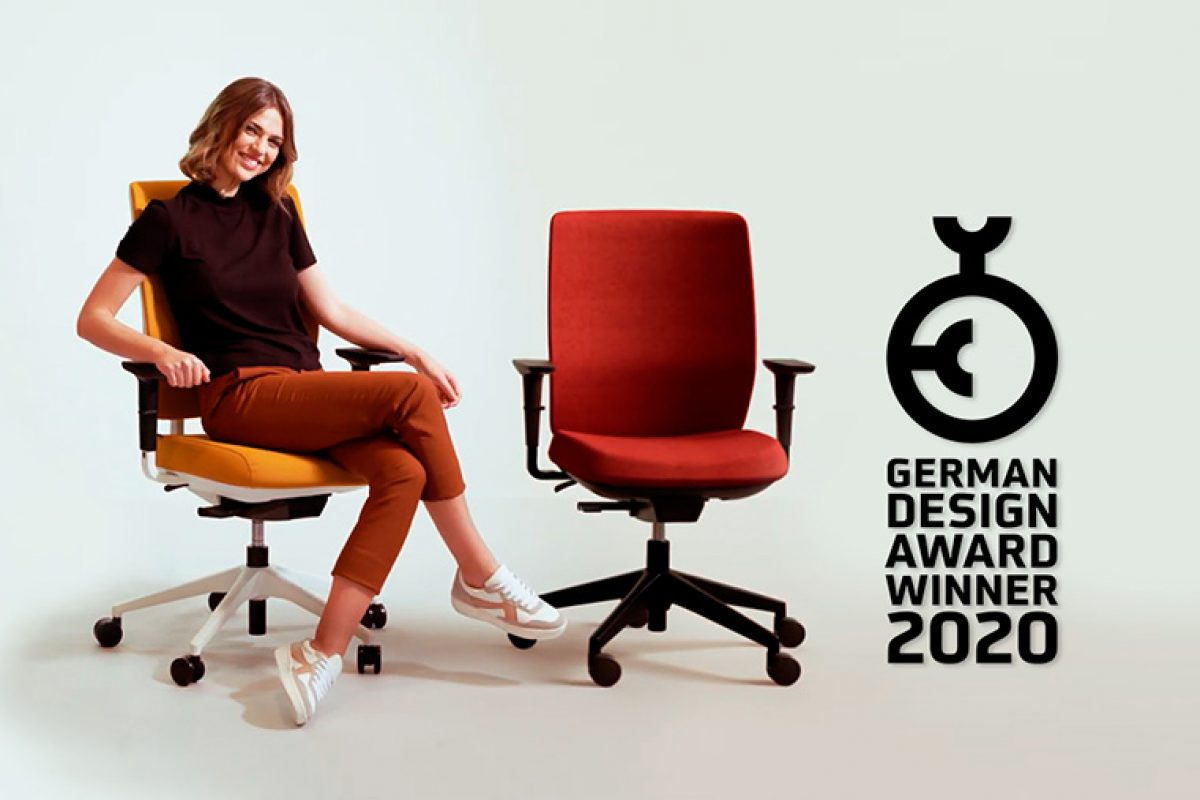 German Design Award 2020 grants an Excellent Product Design in Office Furniture to the TRIM chair by Actiu