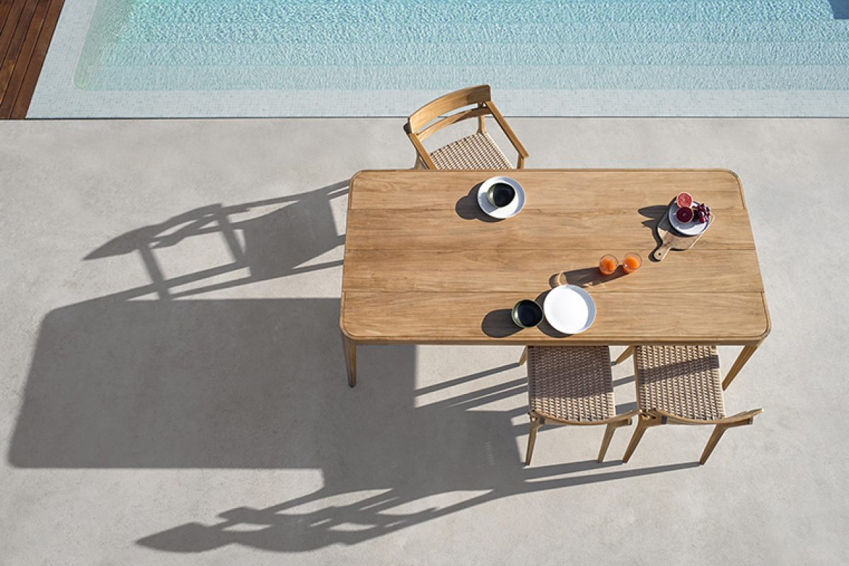 Paralel by Gabriel Teixidó, the new  sophisticated and warm outdoor  collection by Point