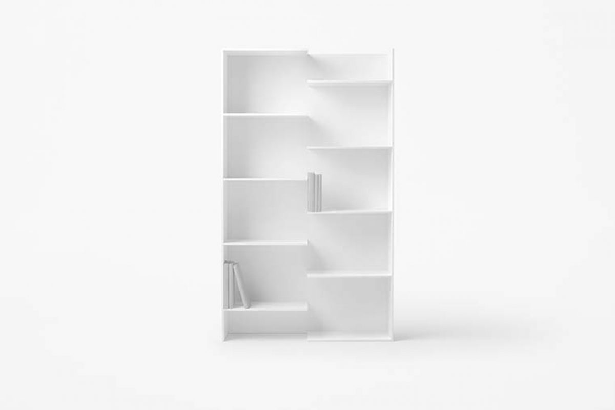 nendo designed newly collection of shelving units «Step» for Desalto
