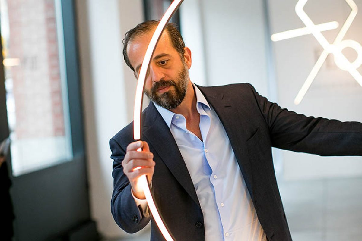 The poet of the light, Michael Anastassiades, Designer of the Year at Maison&Objet Paris January 2020