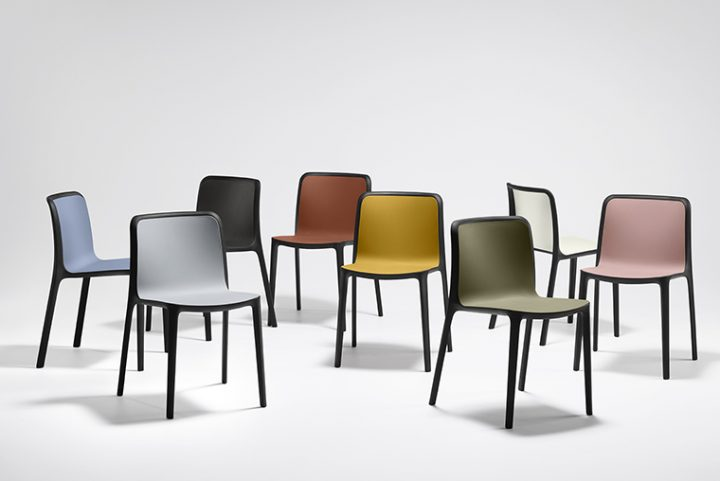 Bika chair by Ramos Bassols for Forma 5. A warm and comfortable design, while functional and versatile