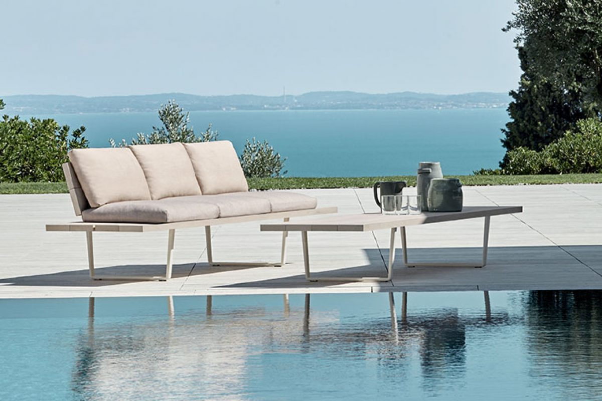 Seen at imm cologne 2020: Orizon, the outdoor furniture collection designed by Lievore Altherr for Fast