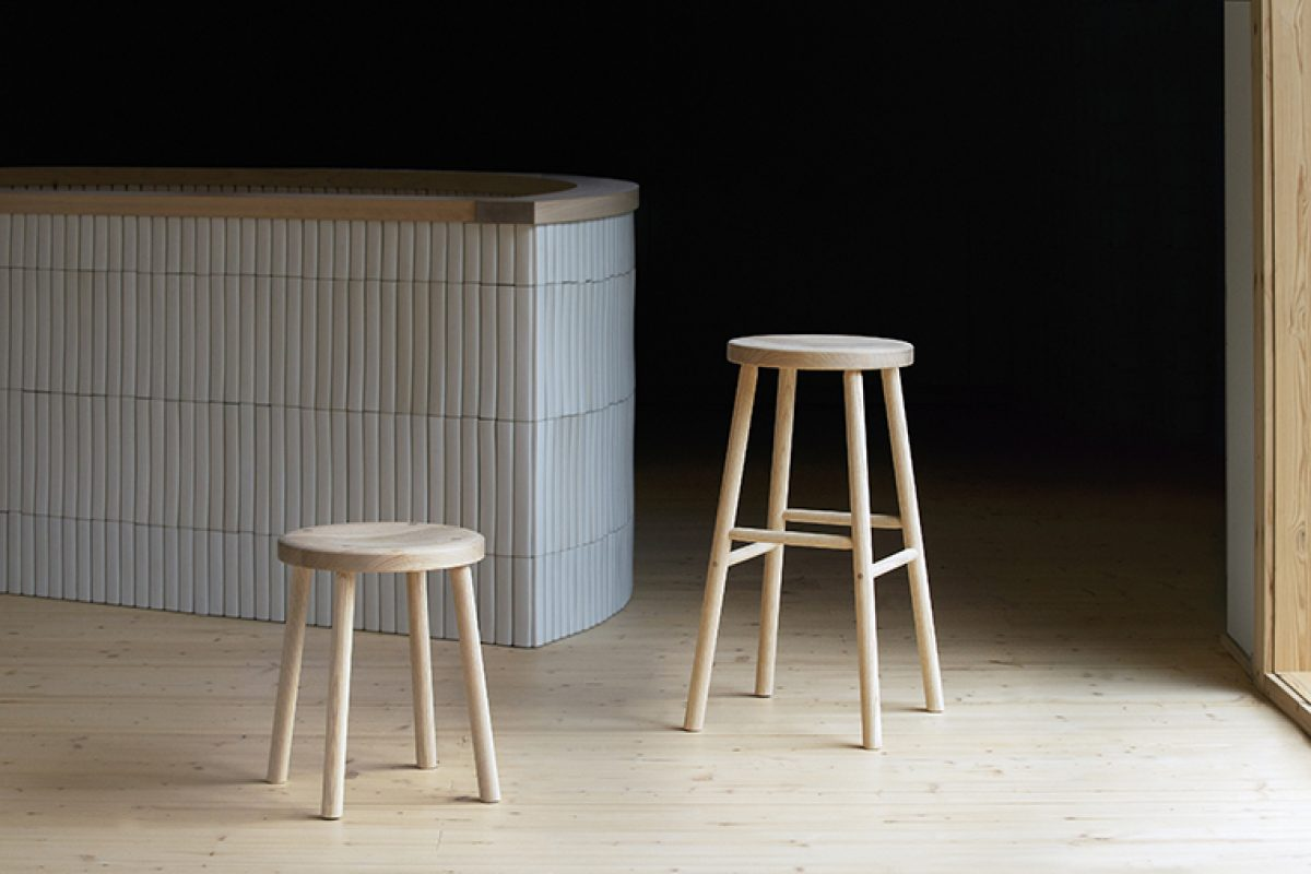 Storia stool by Kari Virtanen for Nikari, bring out the best of wood in contemporary design