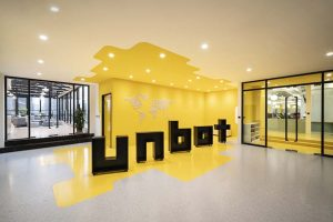 The new offices of Unbot Inc. by Prism Design, a space open to creativity and freedom
