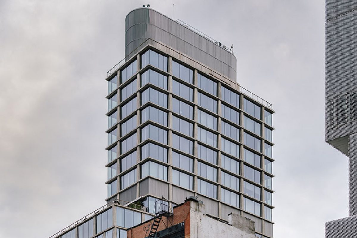 Case Studies: Herzog & de Meuron designs the Chrystie Street Hotel with Wicona facades