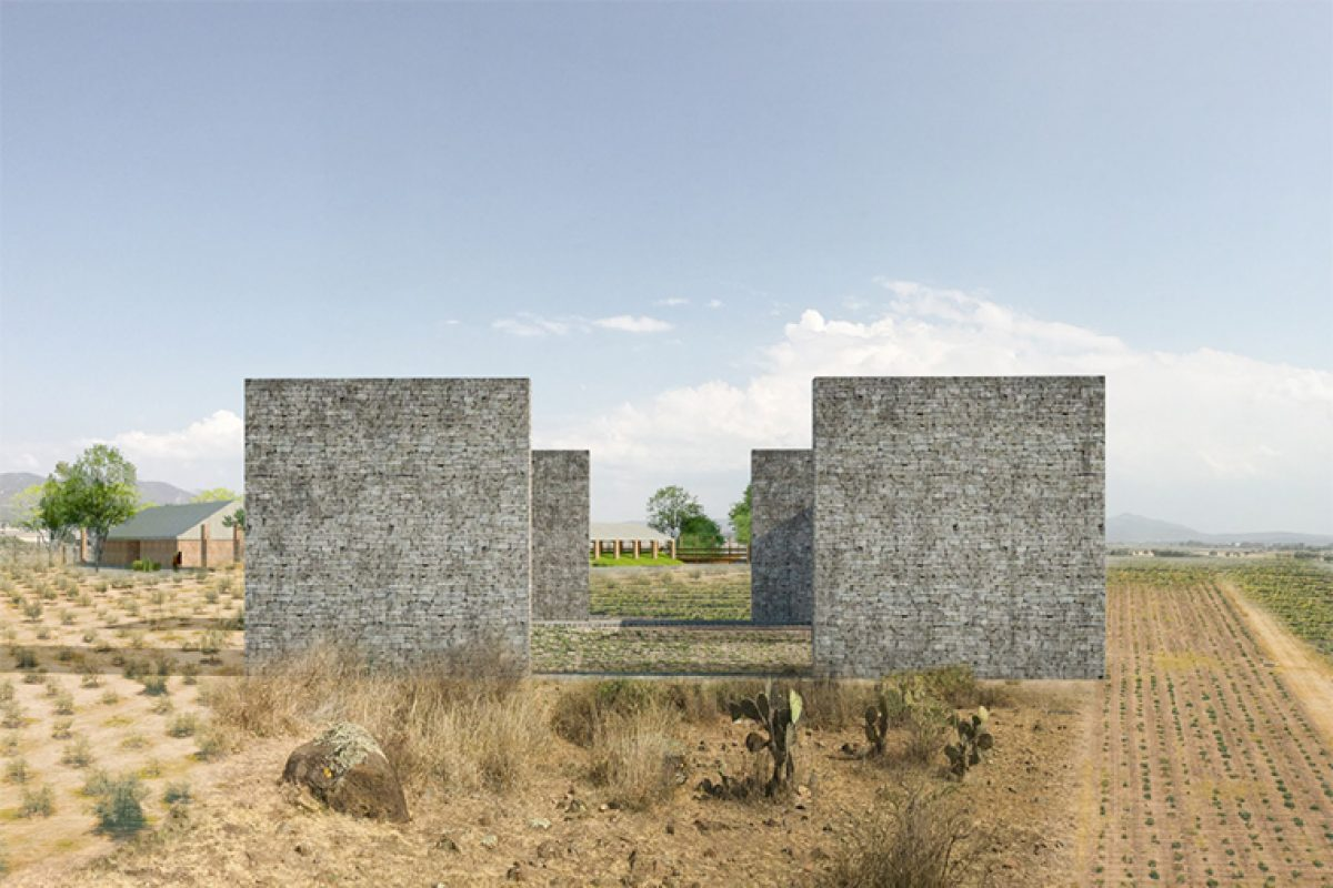 ASP Arquitectura projected the Vineyard El Pedregal in San Miguel de Allende, an aesthetic to complement with existing elements