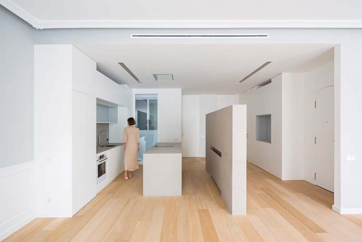 'A sculptor's home' by homu arquitectos: a house where porcelain plays the leading role