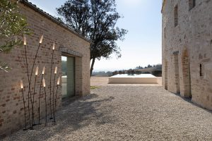 Nilo, the newest outdoor lighting collection designed by Matteo Ugolini for Karman