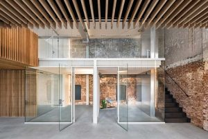 Firm Architects carried out the transformation of an industrial monument