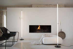 Accipicchio floor light by Matteo Ugolini for Karman. The funny face of lighting