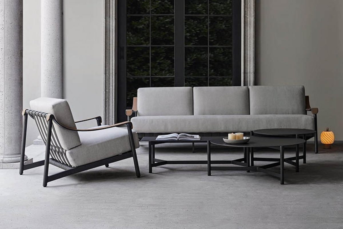 Ramón Esteve designed for Danao Living an outdoor collection inspired by the classic Mid-Century Modern armchairs