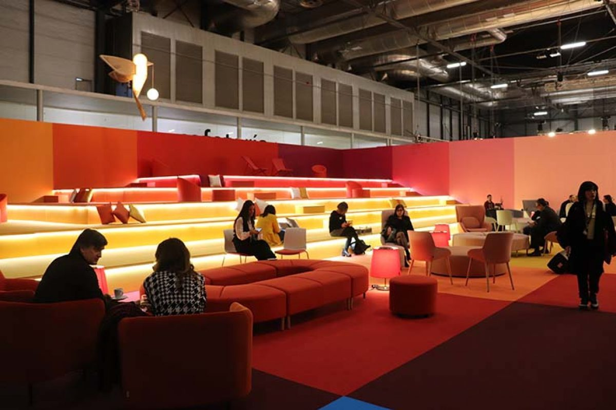 Spanish design is at the forefront of the Teresa Sapey, Rafael Robledo and RED project for the VIP Lounge at ARCO Madrid 2020