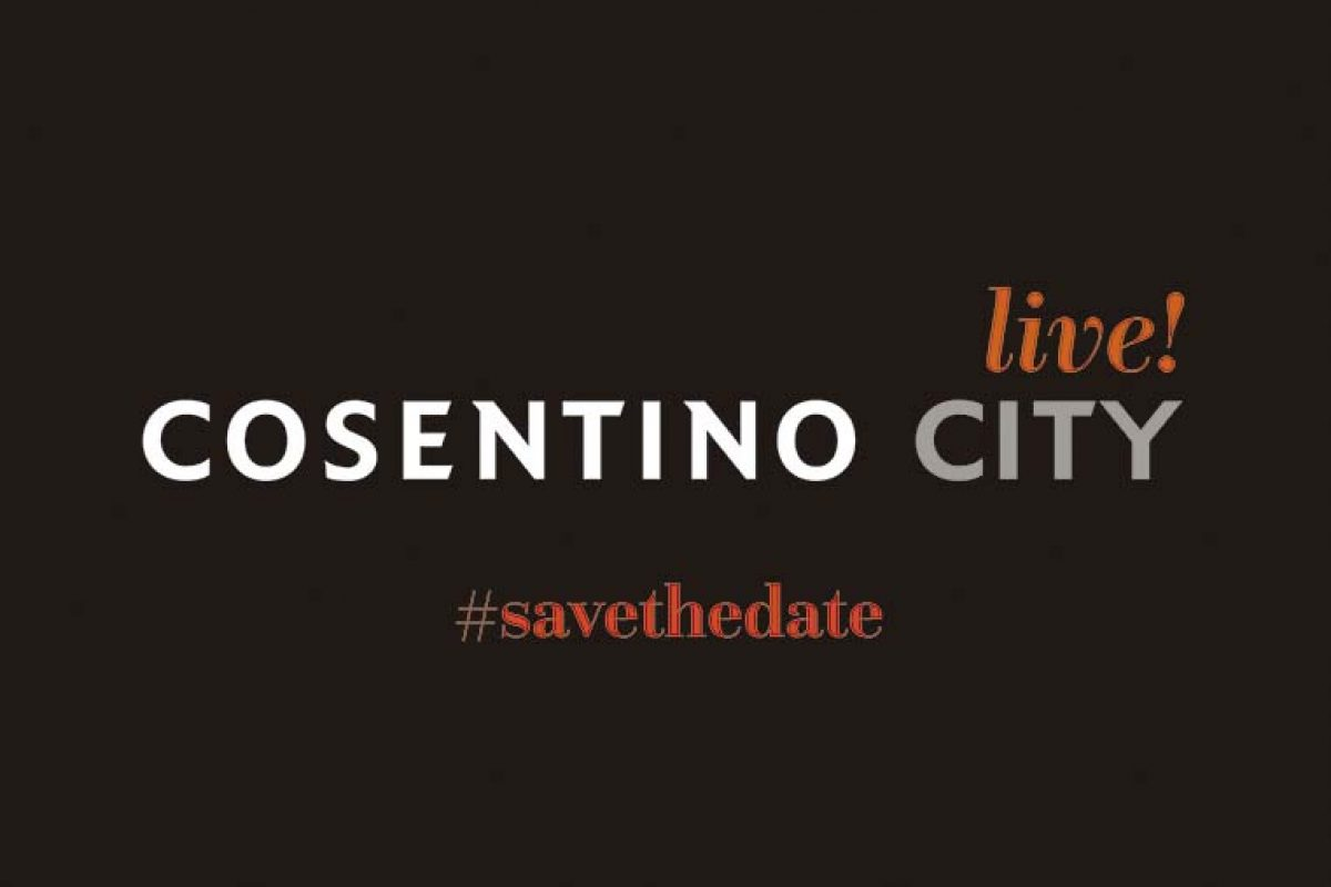 Cosentino City Live!, the best design from home
