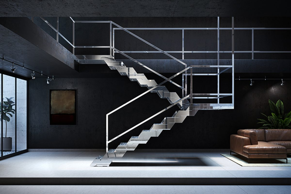 Fontanot presents Diva, an elegant, innovative and completely modular staircase