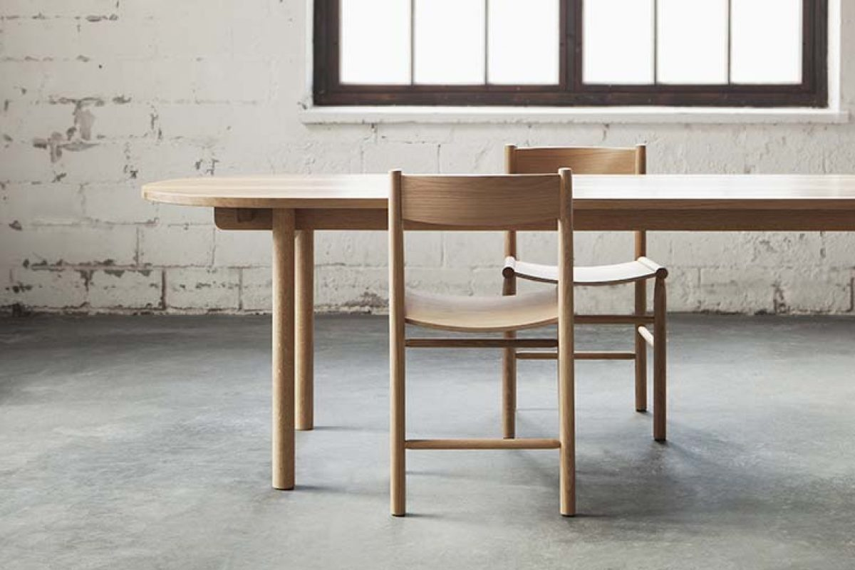 The versatile new Basic table by Jenni Roininen for Nikari