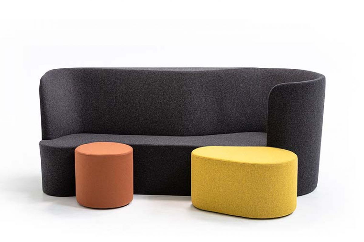 Taba, the new collection by Alfredo Häberli for Moroso designed for existential multifunctionality