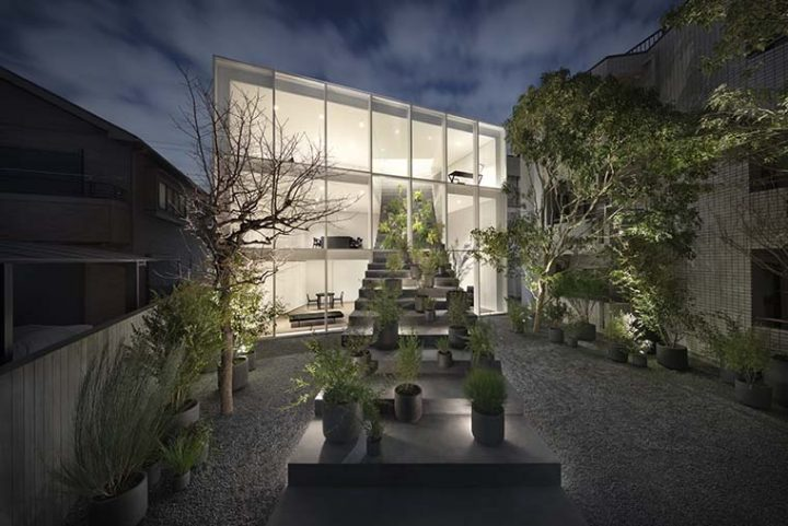"A private house in Tokyo ""stairway house"" designed by nendo"
