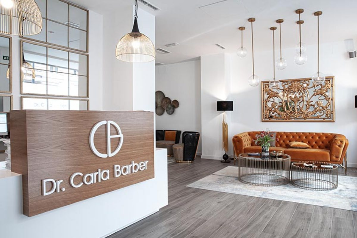 Vical brings boldness and personality to the Dr. Carla Barber aesthetic clinics
