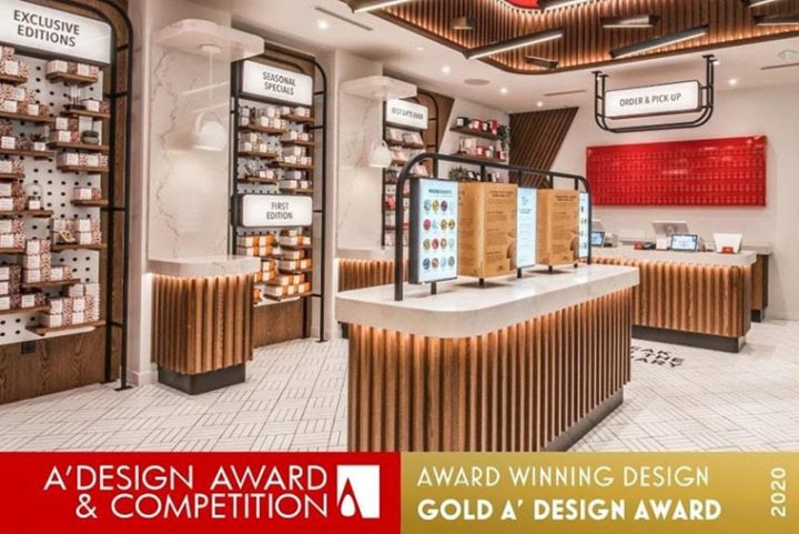 Unique Store Fixtures wins International Design Award Gold for new KitKat Chocolatory at Yorkdale Shopping Center